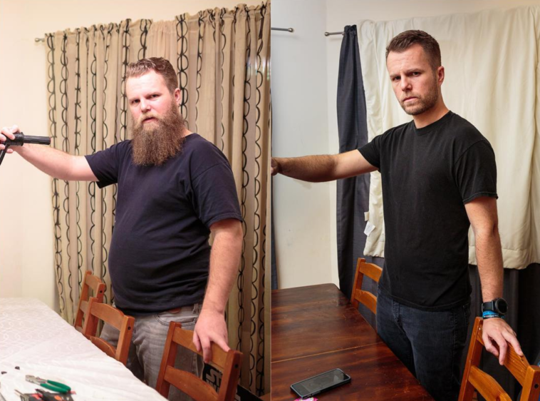 A year ago this man stopped drinking alcohol - his transformation is amazing