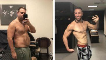 This Man dropped 32 Kilograms, got below 10% body fat, and won a million-dollar bet