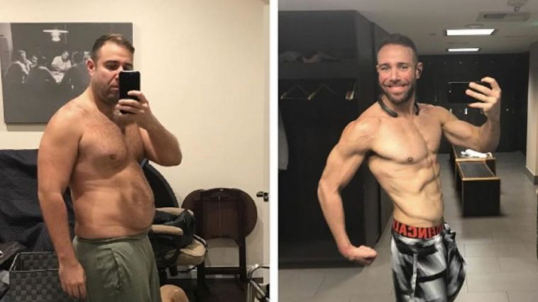 This Man dropped 32 Kilograms, got below 10% body fat, and won a million-dollar bet