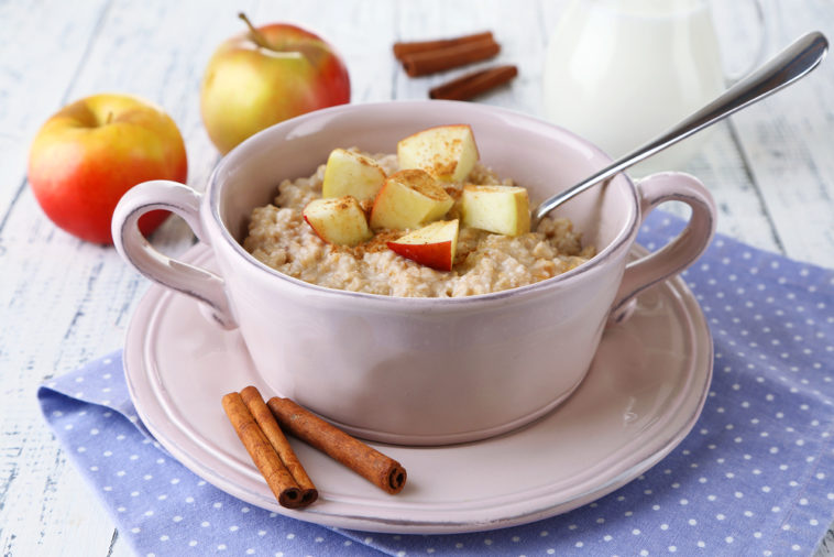 Apple Strudel Porridge