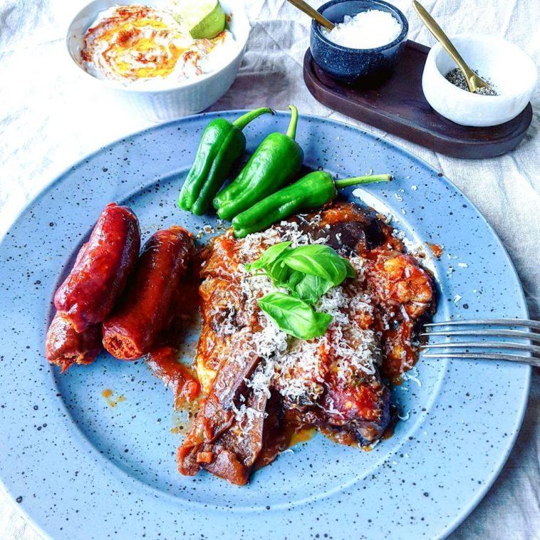Eggplant Mozzarella Gratin