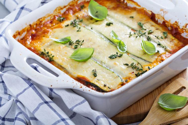 Zucchini Mozzarella Lasagne