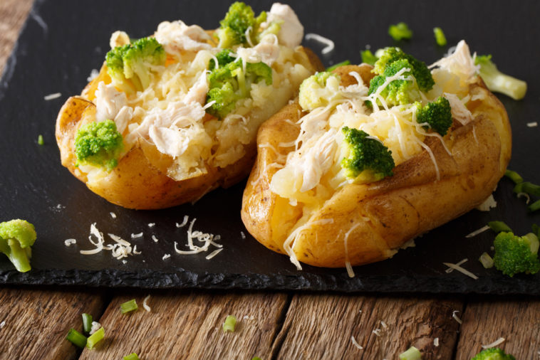 cheese filled potatoes